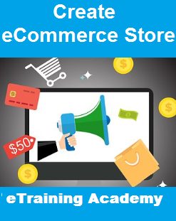 Create eCommerce Store