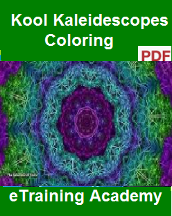 Kool Kaleidescopes Coloring